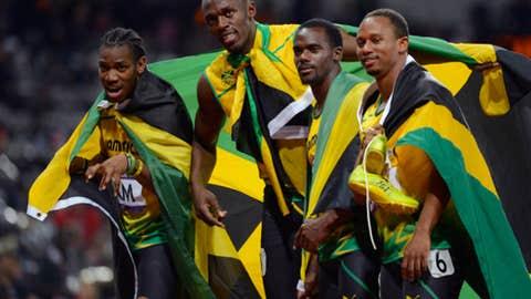 Track & field – men's 4x100-meter relay