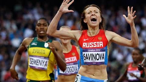 Track & field – women's 800 meters
