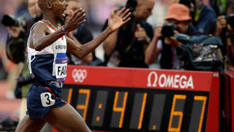 Track & field – men's 5,000 meters