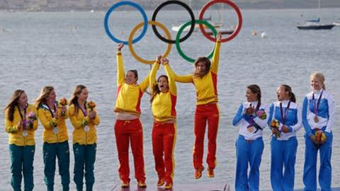 Sailing – women's Elliot 6-meter