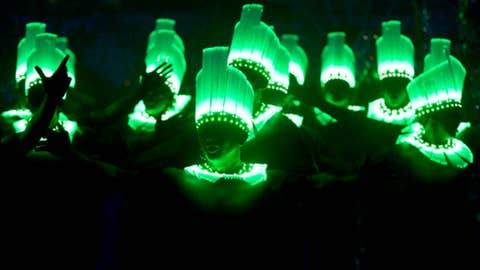 Oooh ... these ones glow