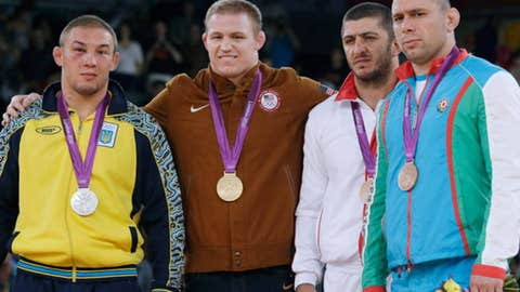 Wrestling – men's 96-kilogram freestyle