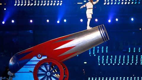 High-flying acrobatics