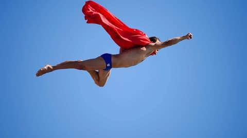 That's a super dive