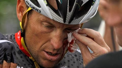 Lance Armstrong (AP Photo/Marcio Jose Sanchez)