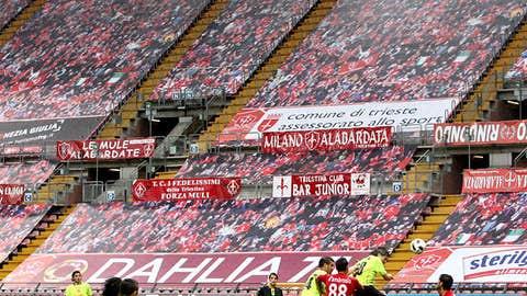 Triestina Padova fans