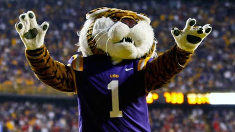 LSU Tigers mascot Mike the Tiger