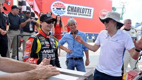 NASCAR at Charlotte Motor Speedway