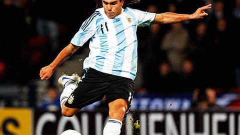 Carlos Tevez, Argentina