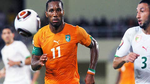 Didier Drogba, Ivory Coast