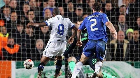 Eto'o, Inter end Chelsea's run