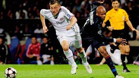 Striker: Ivica Olic, Bayern Munich