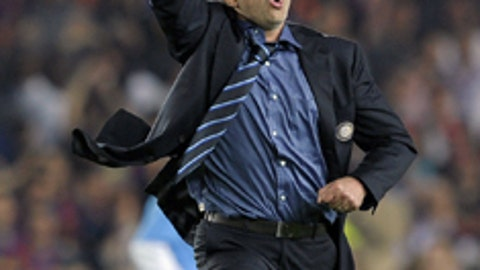 Manager: Jose Mourinho, Inter Milan