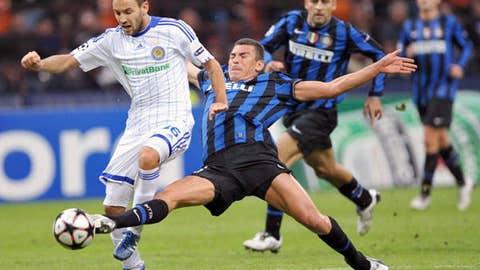 Defender: Lucio, Inter Milan