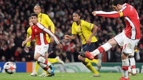 Midfielder: Cesc Fabregas, Arsenal