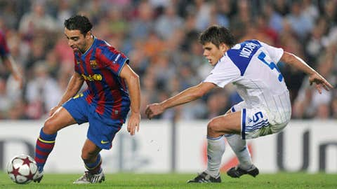 Midfielder: Xavi, Barcelona