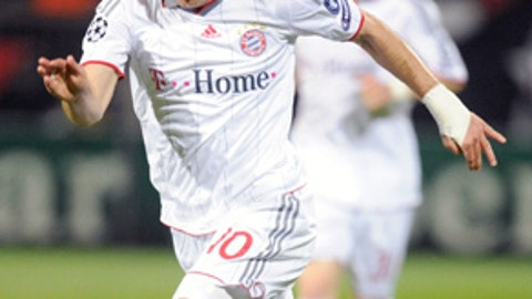 Midfielder: Arjen Robben, Bayern Munich