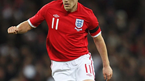 ENGLAND: Gareth Barry -- IN