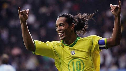 BRAZIL: Ronaldinho -- OUT