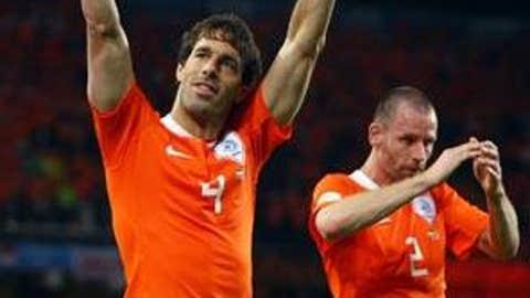 HOLLAND: Ruud van Nistelrooy -- OUT