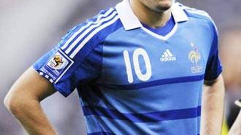 FRANCE: Karim Benzema -- OUT