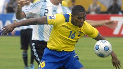 Antonio Valencia, Ecuador