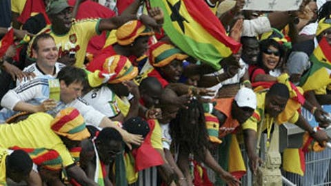 Ghana reaches knockout stage