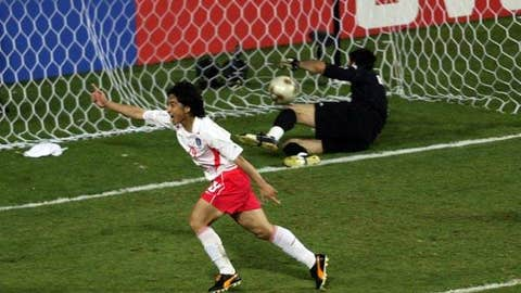 South Korea over Italy, 2002
