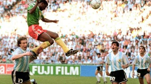 Cameroon over Argentina, 1990