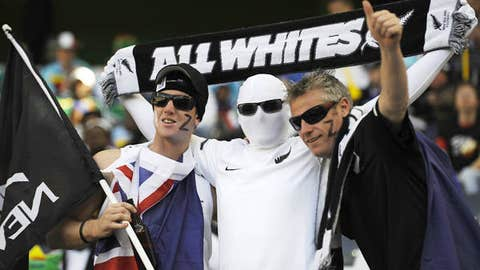 They're called the All Whites because of an antiquated uniform rule