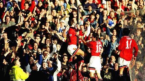 October 1, 1995 at Old Trafford, 2-2 draw