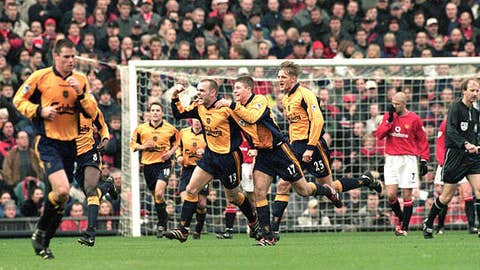 Dec 17, 2000 at Old Trafford Liverpool wins 1-0