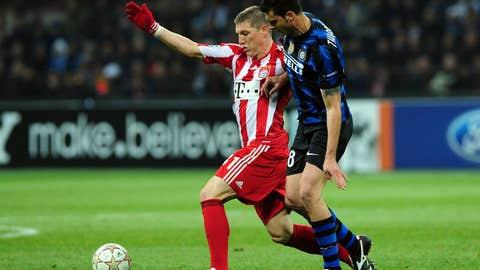 Bastian Schweinsteiger, MF, Bayern Munich