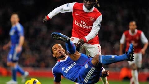 Bacary Sagna, RB, Arsenal