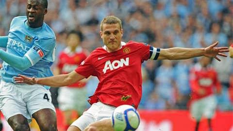 Nemanja Vidic, LCB, Manchester United