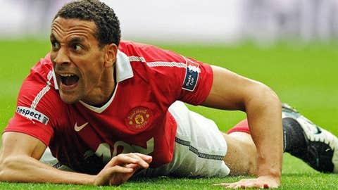 Rio Ferdinand, RCB, Manchester United