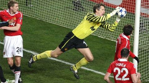 Edwin van der Sar, Manchester United