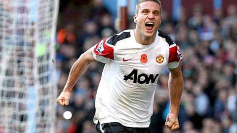 Nemanja Vidic, D, Manchester United