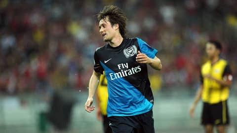 Tomas Rosicky, M, Arsenal