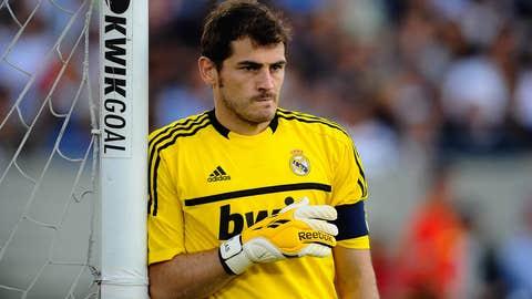 Iker Casillas, G, Real Madrid