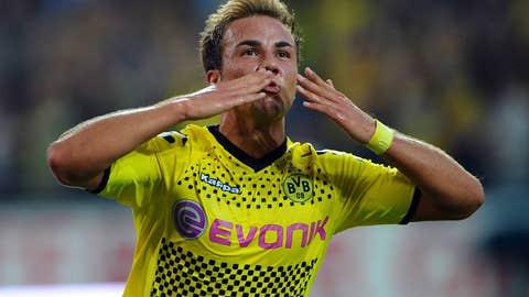 Mario Goetze, M, Borussia Dortmund