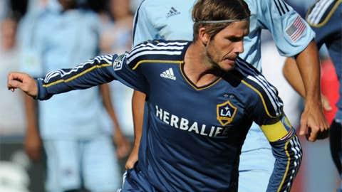 David Beckham, M, LA Galaxy