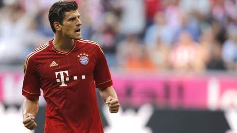 Mario Gomez, F, Bayern Munchen