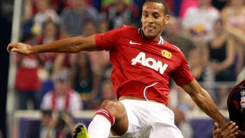 Rio Ferdinand, D, United