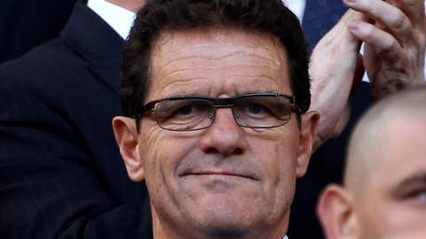 Fabio Capello, manager, England