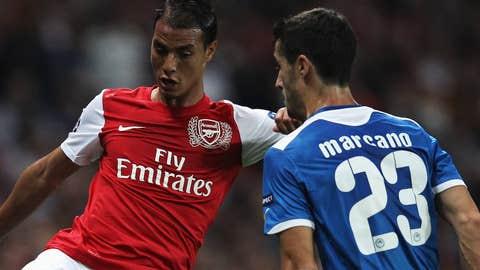 Marouane Chamakh, F, Arsenal