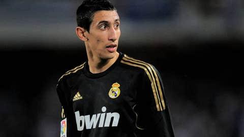 Angel di Maria, W, Real Madrid