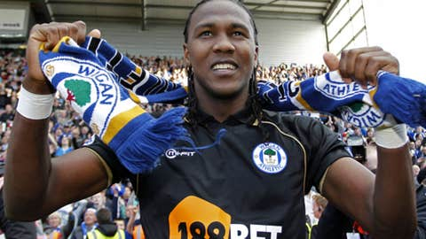 Hugo Rodallega, F, Wigan Athletic