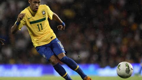 Neymar, W/F, Santos