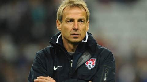 Jurgen Klinsmann, manager, US